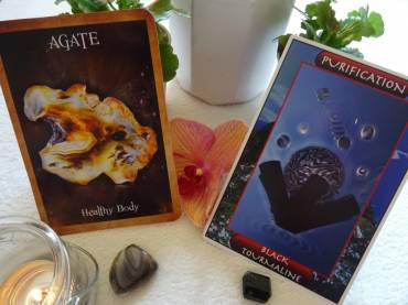 Crystal Reading Cards and Crystal Ally Cards