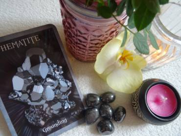 Grounding Meditation With Hematite