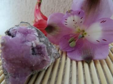 Heart Healers Cobalto Calcite and Pyroxmangite