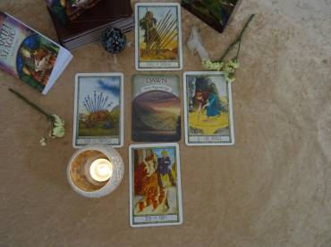 Daily Spread General Reading The Druid Craft Tarot Deck