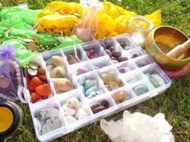 New Moon in Cancer Crystal Ceremony