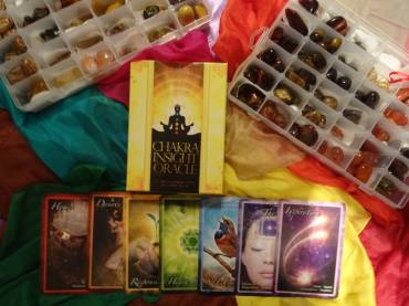 All Seven Chakras Full Energy Reading Session with Crystals and Light Language